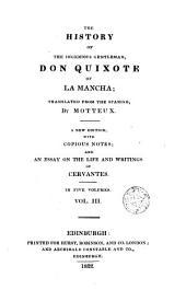 The History of the Ingenious Gentleman Don Quixote of la Mancha,3