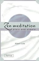 Zen Meditation Plain and Simple PDF