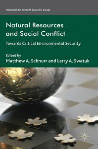 Natural Resources and Social Conflict PDF