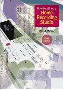 How to Set Up a Home Recording Studio PDF