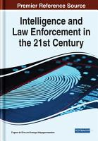 Intelligence and Law Enforcement in the 21st Century PDF