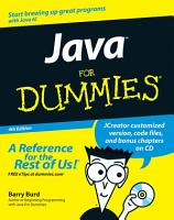 Java For Dummies PDF