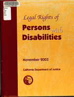 Legal Rights of Persons with Disabilities PDF