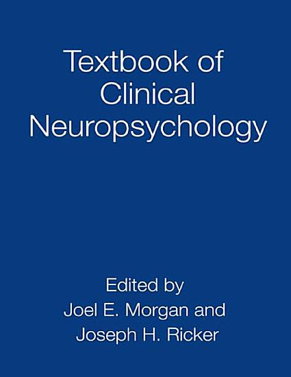 Textbook of Clinical Neuropsychology PDF