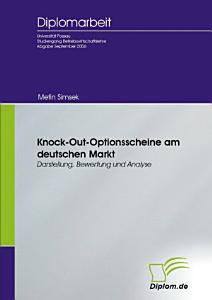 Knock Out Optionsscheine am deutschen Markt PDF
