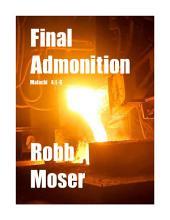 Final Admonition: Malachi 4:1-6