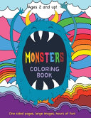 Monsters Coloring Book for Kids Ages 2 and Up!