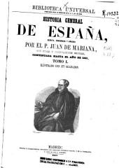 Historia general de España: Volumen 1