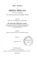 The Works of Thomas Reid PDF