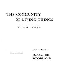 The Community of Living Things in Forest and Woodland PDF