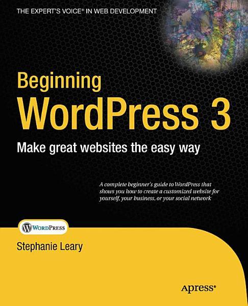 Beginning WordPress 3 Pdf Book