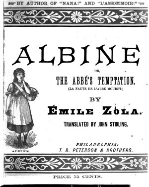 Albine  Or The Abbe s Temptation PDF
