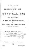 A Text book of the Science and Art of Bread making PDF