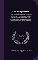 Early Migrations PDF