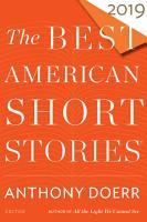 The Best American Short Stories 2019 PDF