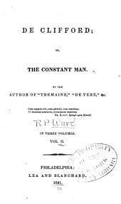 De Clifford: Or, The Constant Man, Volume 2