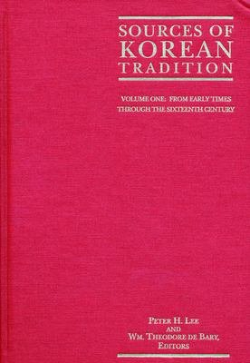 Sources of Korean Tradition PDF