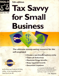 Tax Savvy For Small Business Book PDF