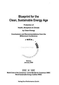 Blueprint for the Clean  Sustainable Energy Age PDF