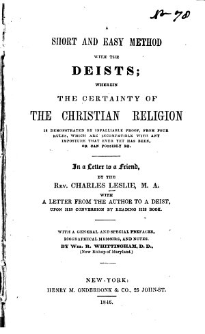 A Short and Easy Method with the Deists
