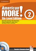 American More  Six Level Edition Level 2 Teacher s Resource Book with Testbuilder CD ROM Audio CD PDF