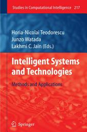 Intelligent Systems and Technologies: Methods and Applications