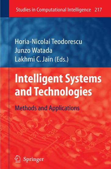 Intelligent Systems and Technologies PDF