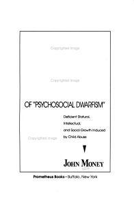 The Kaspar Hauser Syndrome of  psychosocial Dwarfism  PDF
