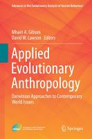 Applied Evolutionary Anthropology PDF