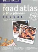 Rand McNally 2001 Deluxe Road Atlas   Trip Planner