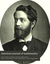 American Journal of Mathematics: Volume 14