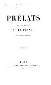 Les Prélats les plus illustres de la France