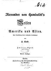 Alexander von Humboldt's Reisen in Amerika und Asien: eine Darstellung seiner wichtigsten Forschungen, Band 2