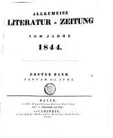 Allgemeine Literaturzeitung PDF