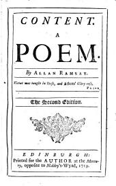 Content, a poem