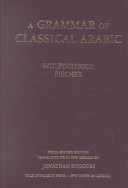 A Grammar of Classical Arabic PDF