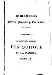 El ingenioso hidalgo Don Quijote de la Mancha: Volumen 4
