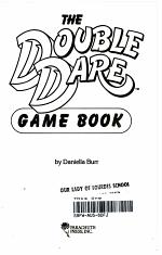 The Double Dare Game Book