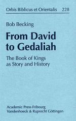 From David to Gedaliah