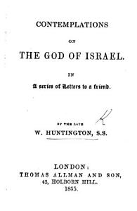 Contemplations on the God of Israel  in a series of letters to a friend PDF