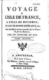 Voyage à l'Isle de France,...: Volume2