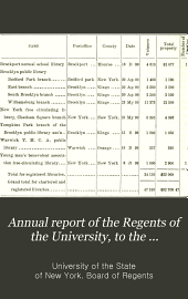 Annual Report of the Regents of the University, to the Legislature of the State of New-York: Volume 114
