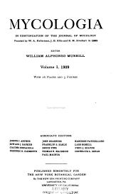 Mycologia: Volumes 1-2