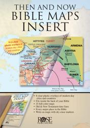 Then and Now Bible Maps Insert