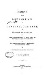 Memoir of the Life and Times of General John Lamb