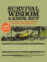 Survival Wisdom   Know How PDF