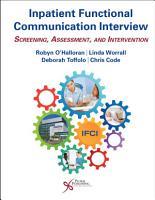 Inpatient Functional Communication Interview PDF