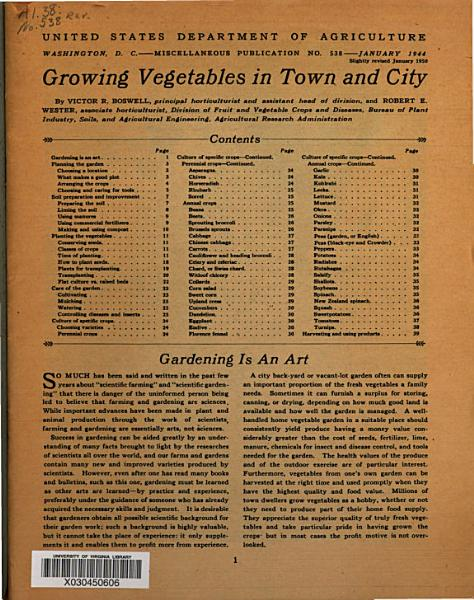Download Growing Vegetables in Town and City Book