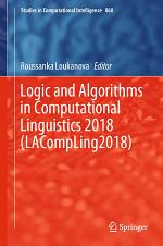 Logic and Algorithms in Computational Linguistics 2018 (LACompLing2018)