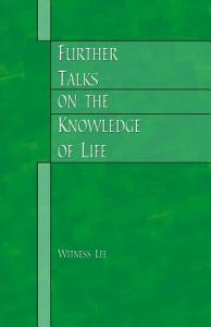 Further Talks on the Knowledge of Life PDF